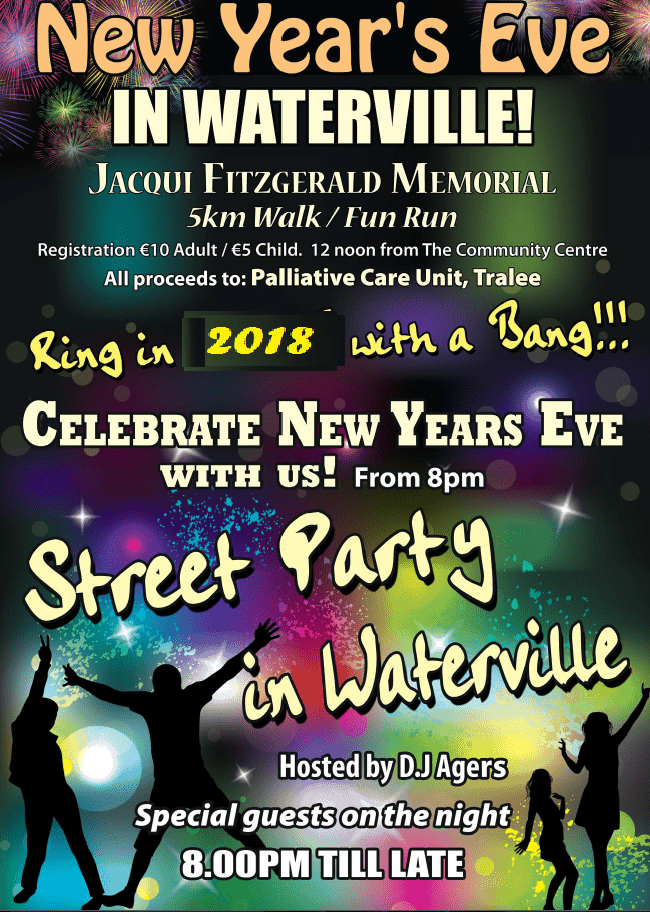 NEW YEARS EVE STREET PARTY 2017