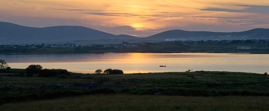 lakelands sunset